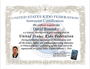 Instructor Certification